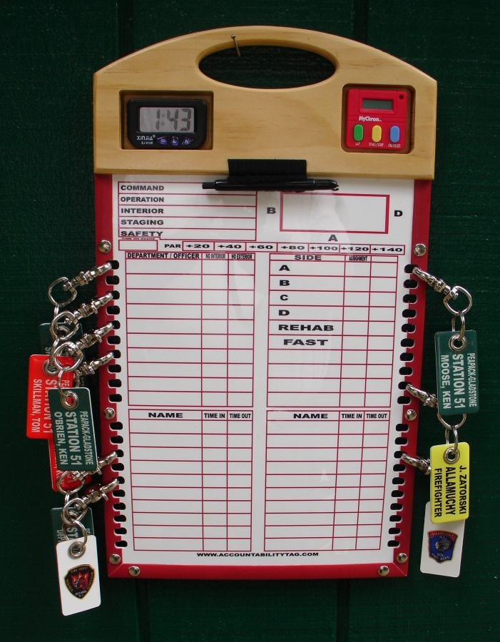 Here is a new product. A slotted Accountability Board.
